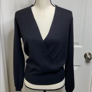 Ann Taylor Black Sweater new